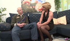 Couple - Grandma & Grandpa At Porn Audition Because Need Cash Germa…